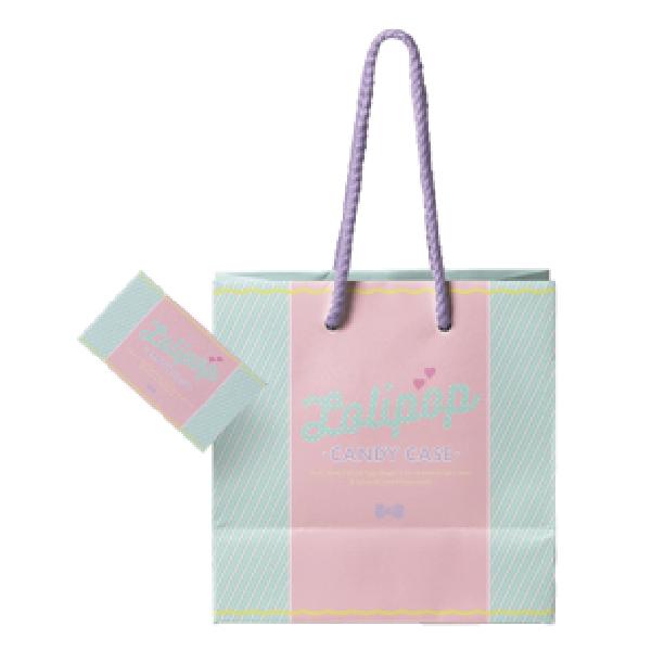女性向け店舗のショッパーのデザイン