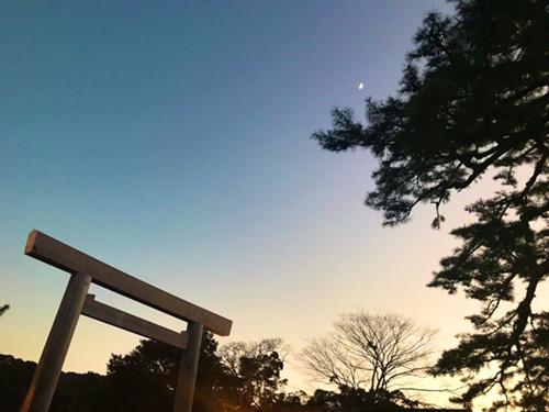 伊勢神宮内宮の写真