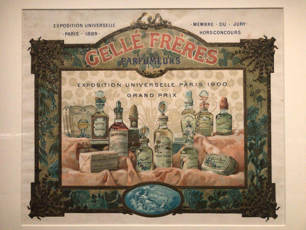 ヴィンテージ香水のポスター